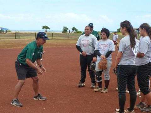 Coach Nakasone of Hawaii Pacific University